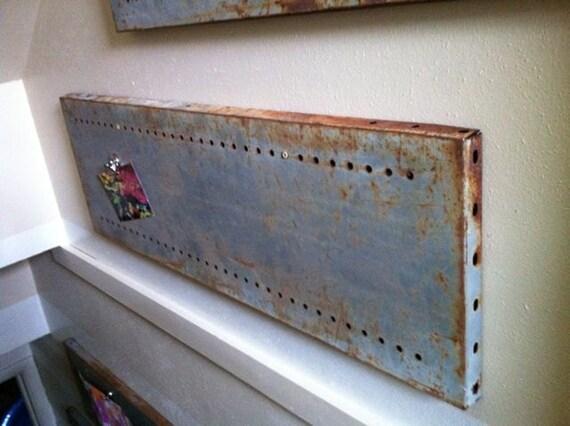 Rustic Magnetic Wall Display Unit, Shelf, or Backsplash
