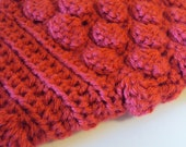 Red Crochet Dog Sweater/ SMALL SIZE/ Made to Order/ Spring Fashion