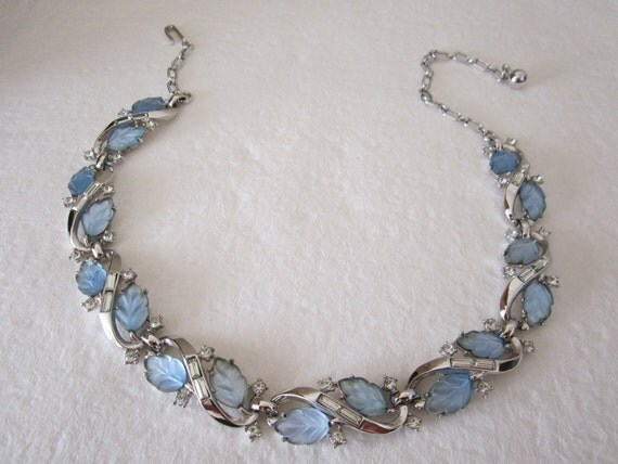 Vintage Trifari fruit salad necklace