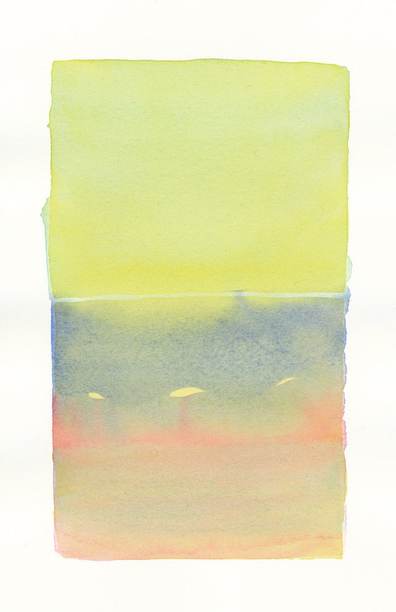 small original watercolor color form 15