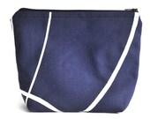 Makeup Bag - Cosmetic Bag - Toiletry Bag - Blue Bag