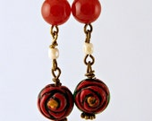 Victorian Gypsy Rose Earrings