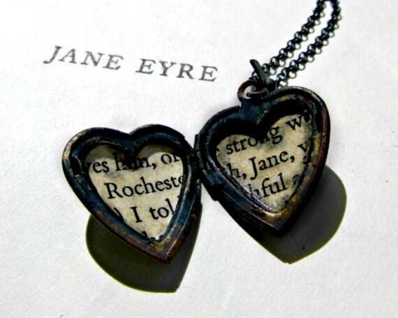 Jane Eyre Heart Locket