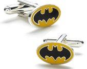 Classic Batman Logo Cufflinks