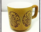 Embroidery Style Coffee Mug