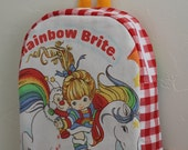 Toddler BackPack  rainbow brite (small)