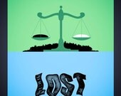 Lost poster - 8x10