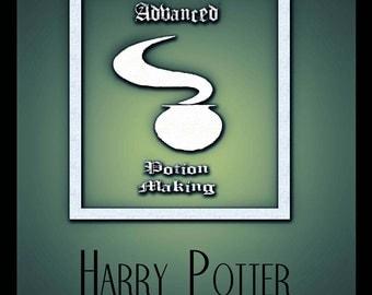 Harry Potter 'Half blood prince' Retro movie poster - 8x10