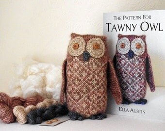 Tawny Owl Knit Kit