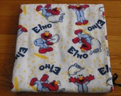 Baby Boy Flannel Receiving Blanket - Elmo Print
