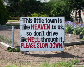 Neighborhood Sign in Paoli, Colorado