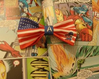 Captain America Hairbow