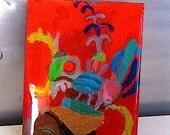 Incan  Hat Painting