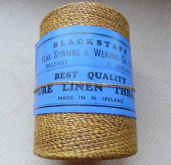 Vintage Linen Thread