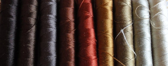 Silk Threads, Autumn shades
