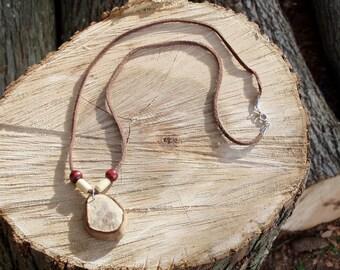 Cape Cod beach stone necklace