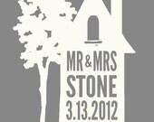 "Mr & Mrs House - 8x10"" - Wedding Gift - Digital Download - Printable"