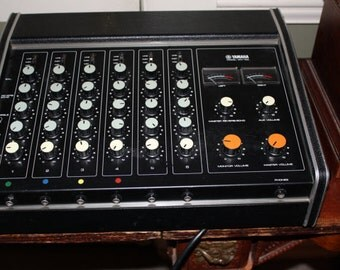 Yamaha PA Head  Vintage Band Equipment Powered Mixer Super Sale 15% Off Coupon Code 77731
