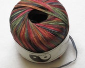 Euro Yarns Yang ( Elizabeth Austen Yang)  yarn - narrow colorful nylon ribbon 04 starry nights
