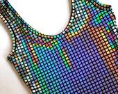Metallic Rubix Cube New Years Holiday Dress