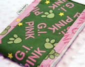 Infant Burp Cloth - GI Pink