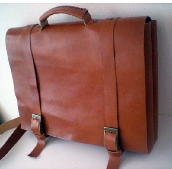Q14 - Alternative Attorney Laptop High Quality Leather Bag