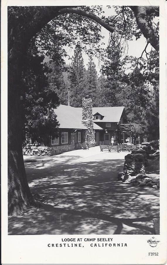 Antique Postcard Lodge at Camp Seeley