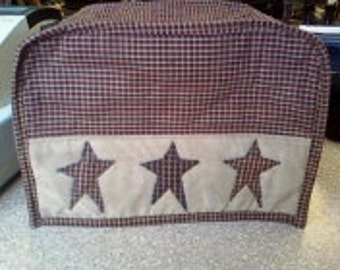 Primitive Homespun Toaster Cover