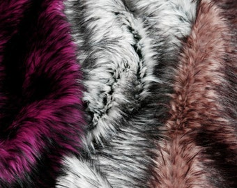 Husky Shag Fur Swatches