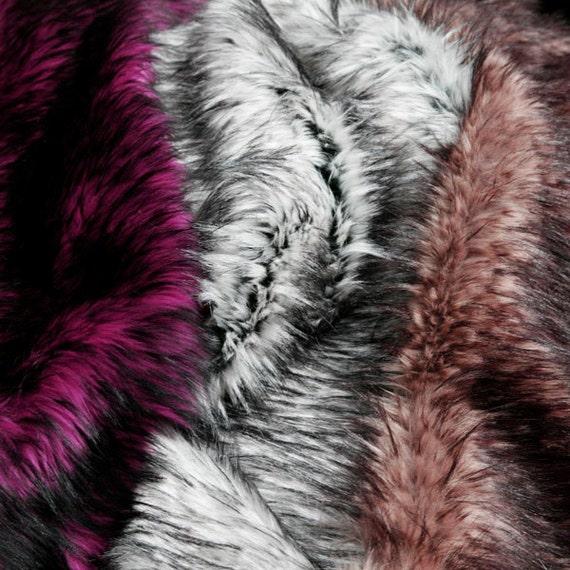 Husky Shag Fur Swatches