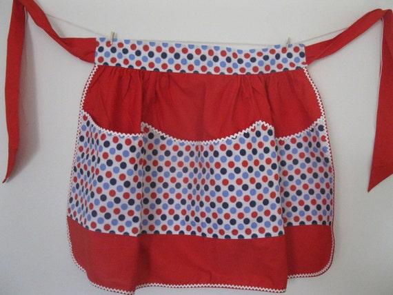 1950's vintage apron- mint