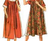 1962 - Muu Muu or Maxi Dress w/ Raglan Sleeves, Scooped Neckline, and Two lengths - McCalls 6543 - Complete Original Vintage Pattern
