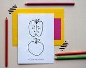 Color Me Lovely Stationery Set