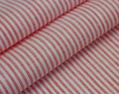 """Linen fabric 59""""x46"""" red striped"""