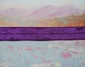 New COLOR- Deep Lavender 10 Yards of  Shiny Fold Over Elastic 5/8 for Headband