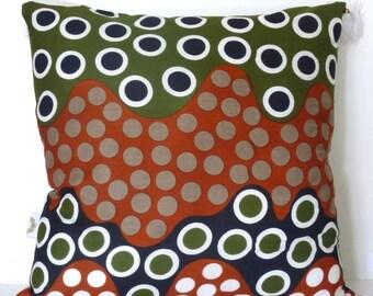 "Kaki ""Buble"" cushion cover"