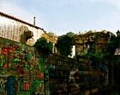 grafiti, spain travel photography, graffiti street art color architecture