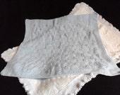 Powder Blue Baby Blanket