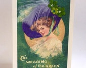 St Patricks Day Card Wearing of the Green