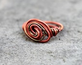 It's a Wrap -  Wire Wrapped Ring - Size 6 - READY to SHIP