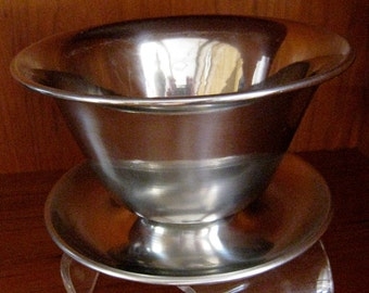Stainless Steel gravy serving bowl made in Denmark