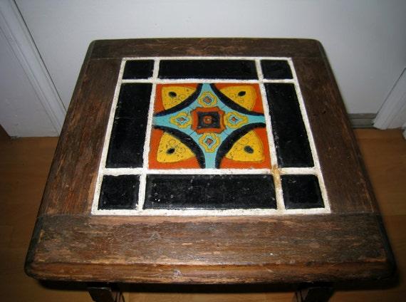 Mission California Tile Table Hispano Moresque