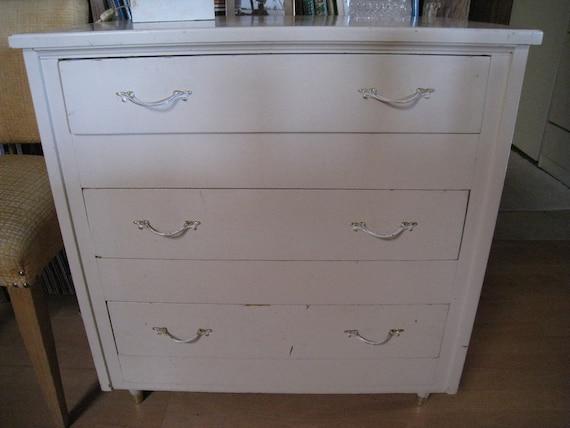 Shabby Chic antique white dresser