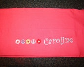 Personalized Pillowcase for Girls