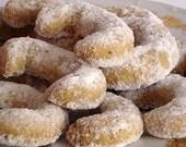 Vanilla Crescents - Christmas cookies