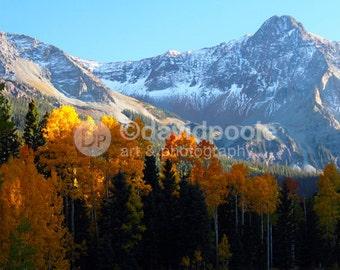 Last Light in the Valley Colorado. Photography Print 8x10 Fine Art Southern Colorado Landscape
