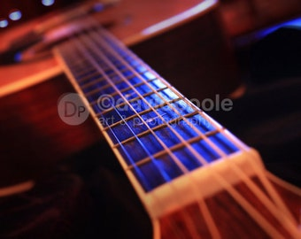 Musical Perspective. Photography Print 8x10 Fine Art Photography Guitar