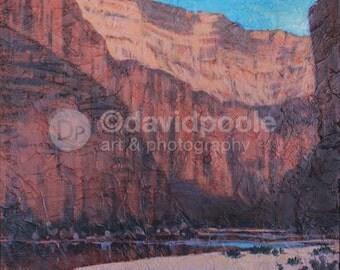 Canyon Light Green River Utah. Photography Print of painting 8x10 Fine Art Southern Utah Landscape