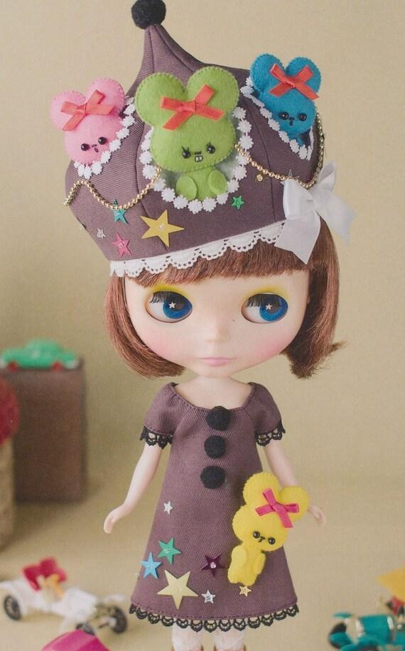 Blythe and other Dolls Dress Pattern