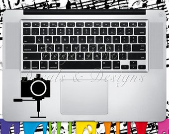 Photography Camera Keypad Film Fashion Model  Art Academy Director Producer Hollywood Actor Actress Decal for Macbook